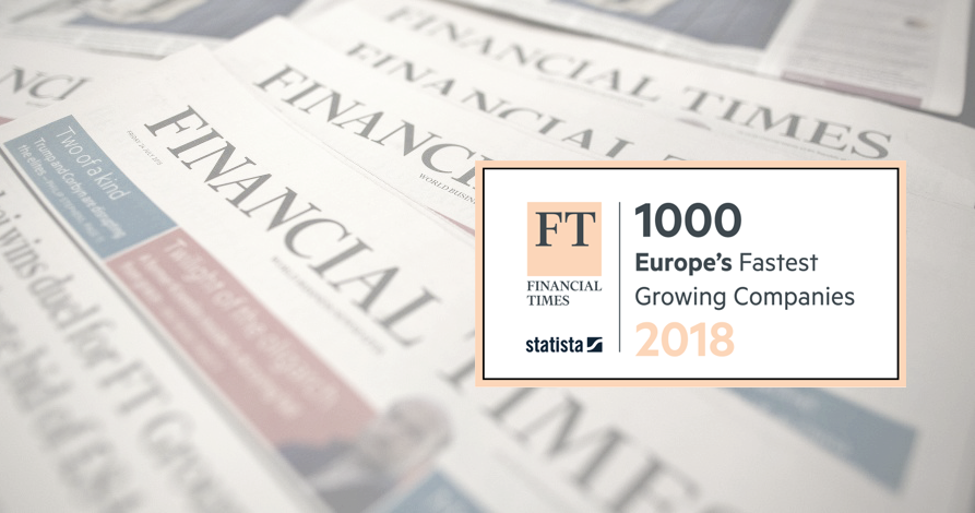 Trippus makes the Financial Times FT 1000!